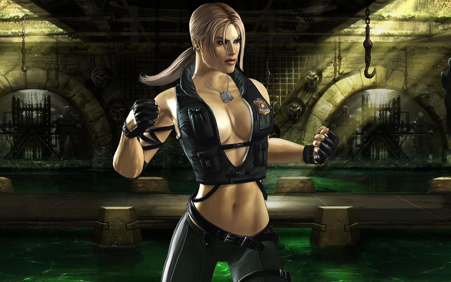 Mortal Kombat wallpaper Sonya Blade