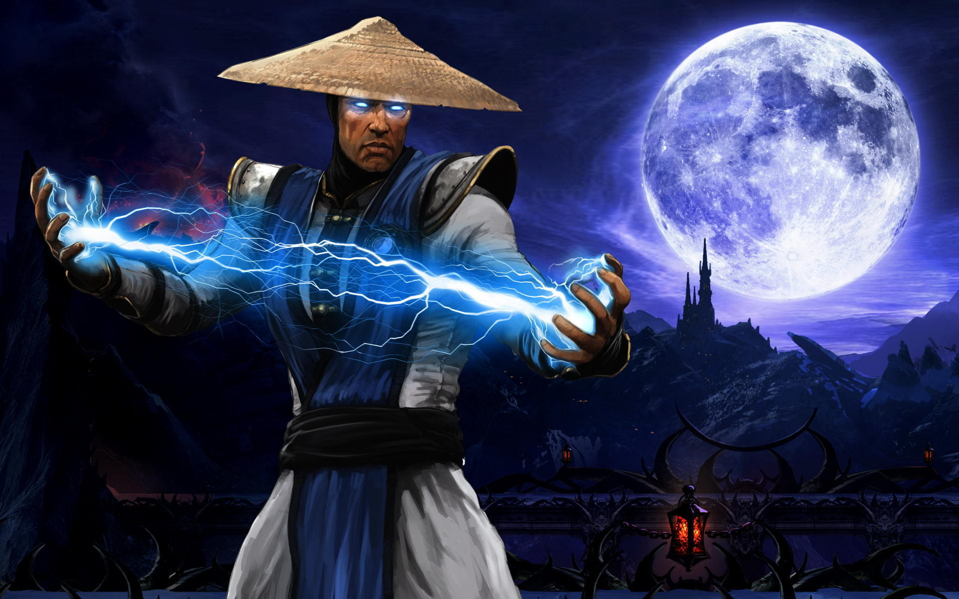 Mortal Kombat wallpaper Raiden