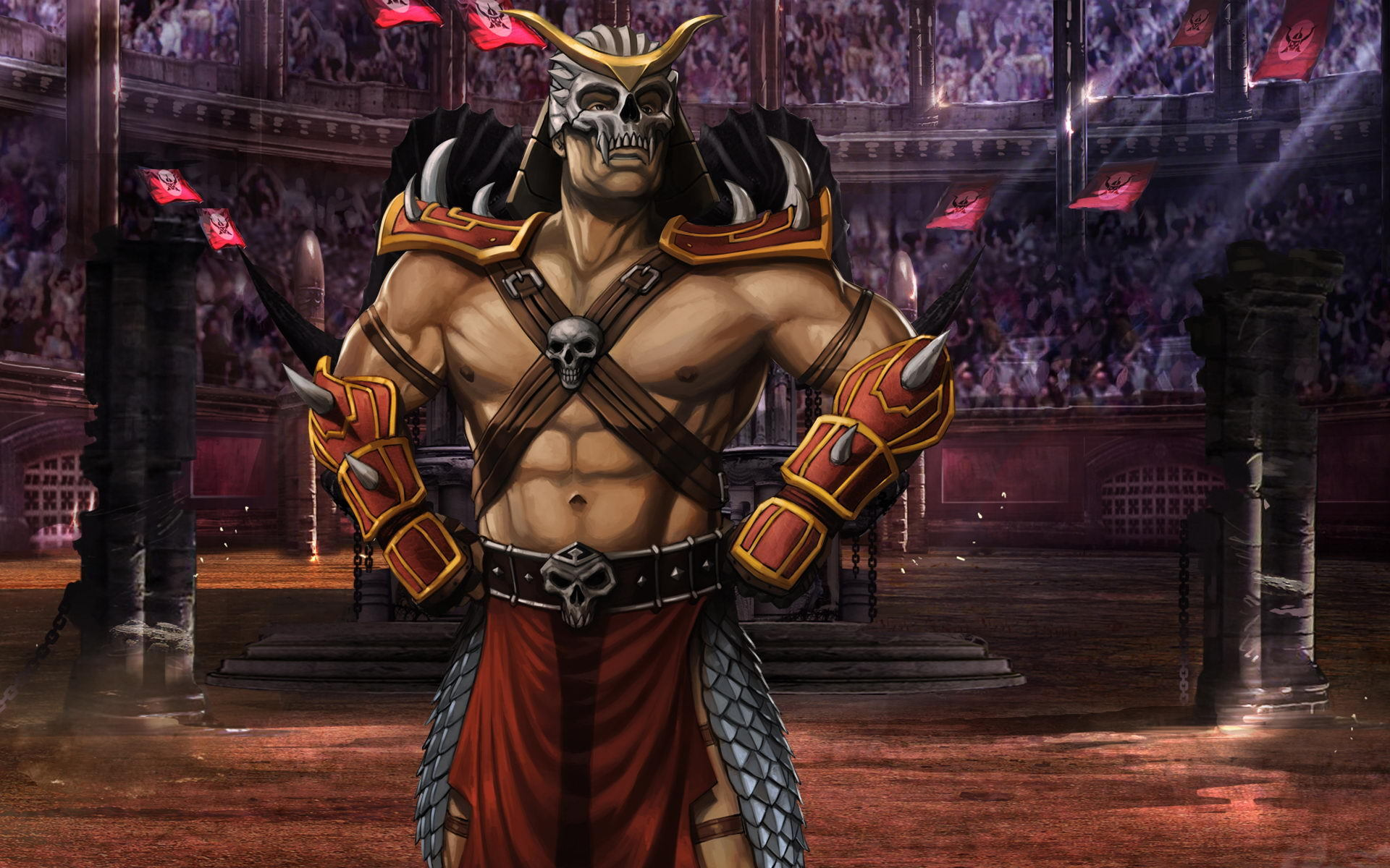 Mortal Kombat wallpaper Shao Kahn