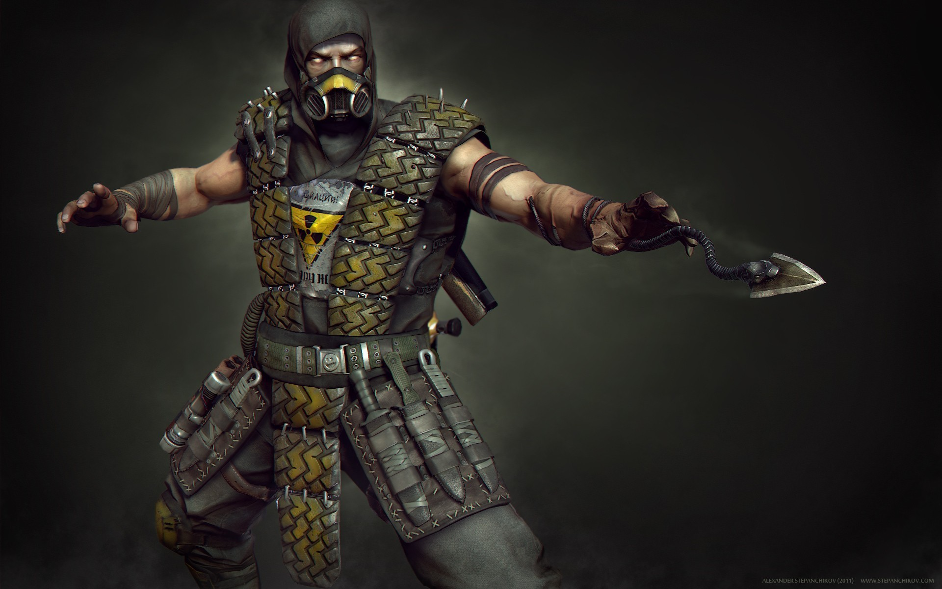 Mortal Kombat wallpaper Scorpion