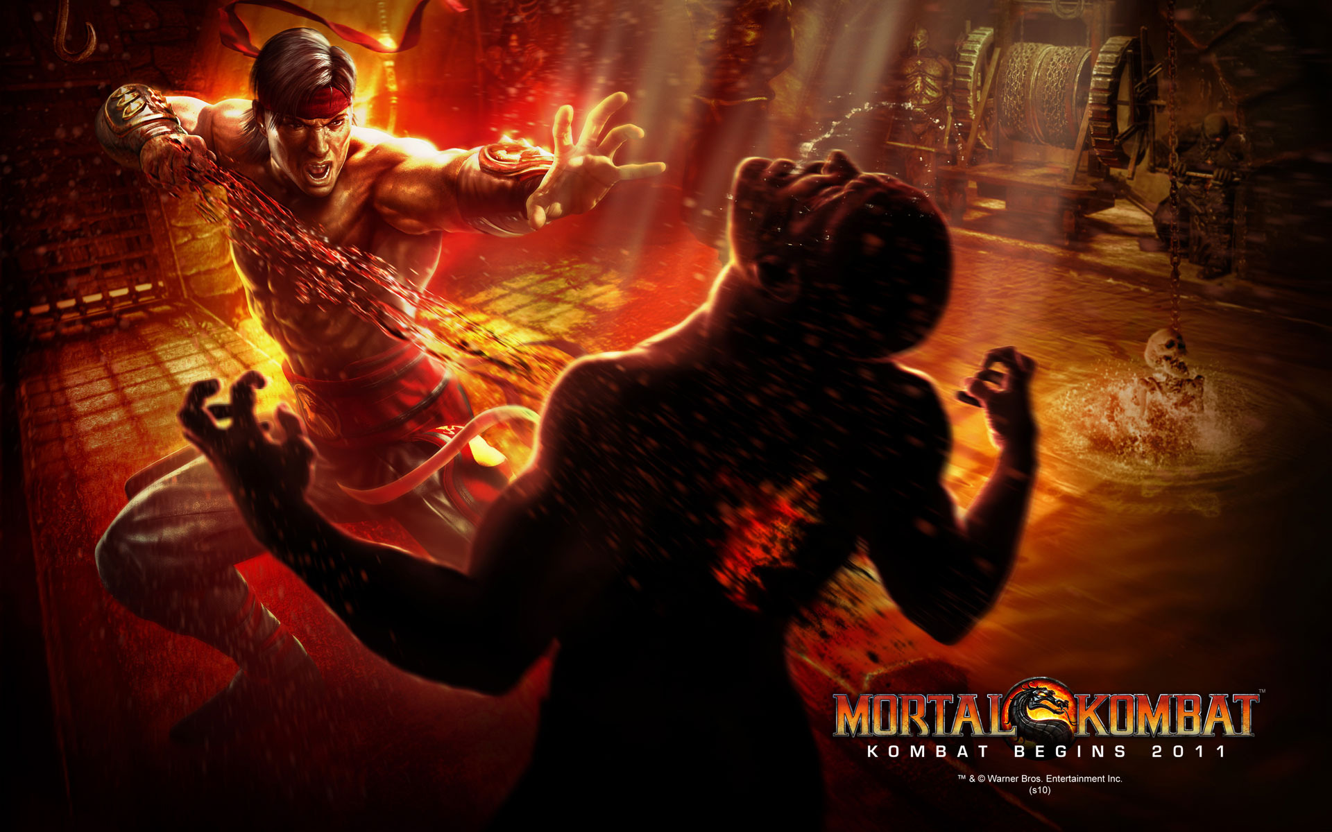 Mortal Kombat wallpaper Liu Kang