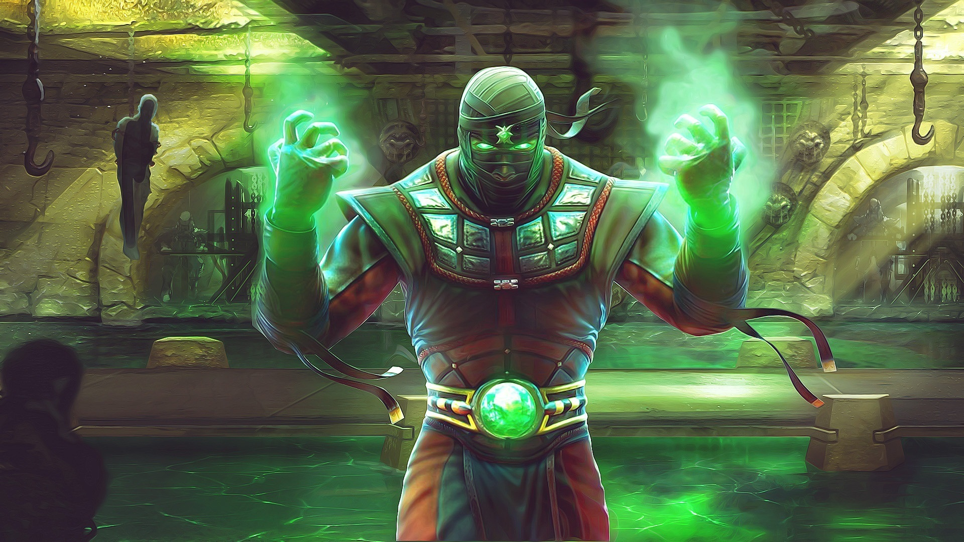 Mortal Kombat wallpaper Ermac