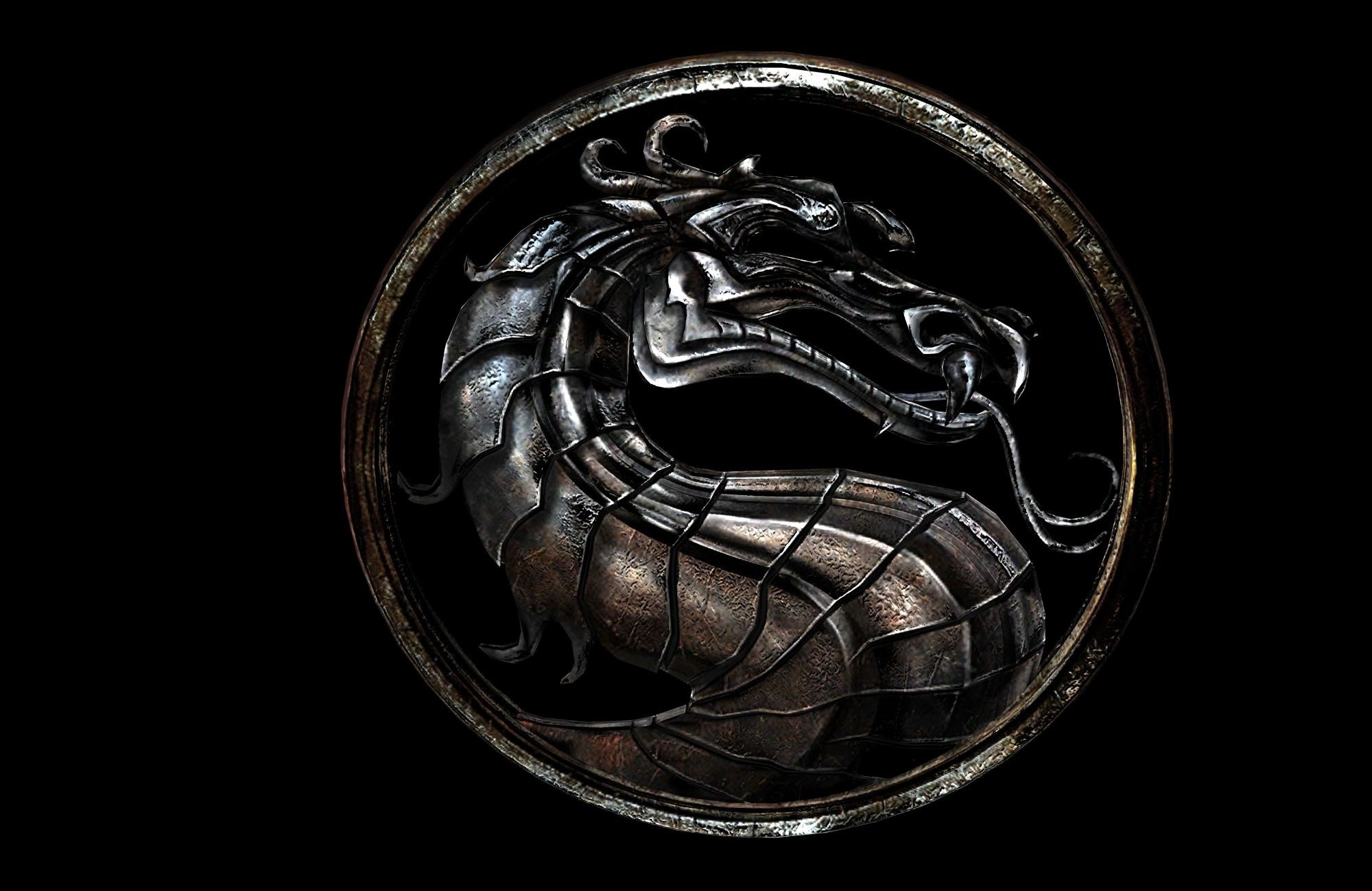 Mortal Kombat wallpaper Dragon from steel