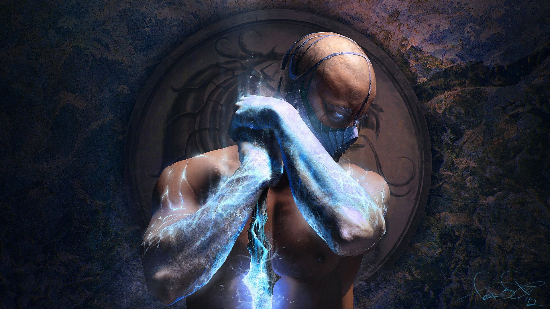 Mortal Kombat wallpaper Sub-Zero 4