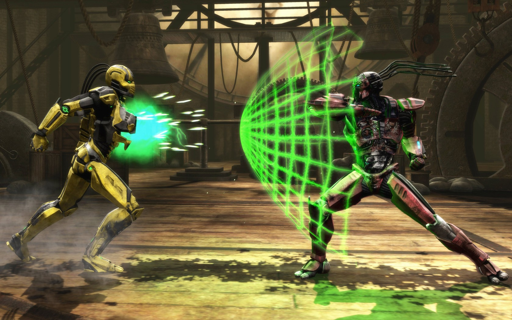 Mortal Kombat Wallpaper Sektor And Cyrax Mortal Kombat Games