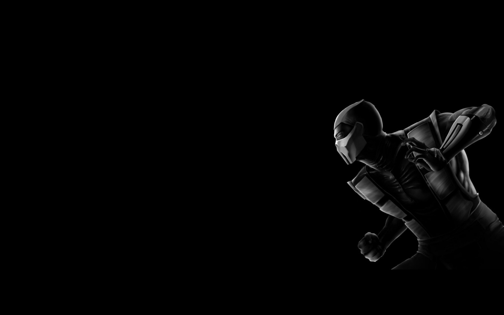 Mortal Kombat wallpaper Noob Saibot 2