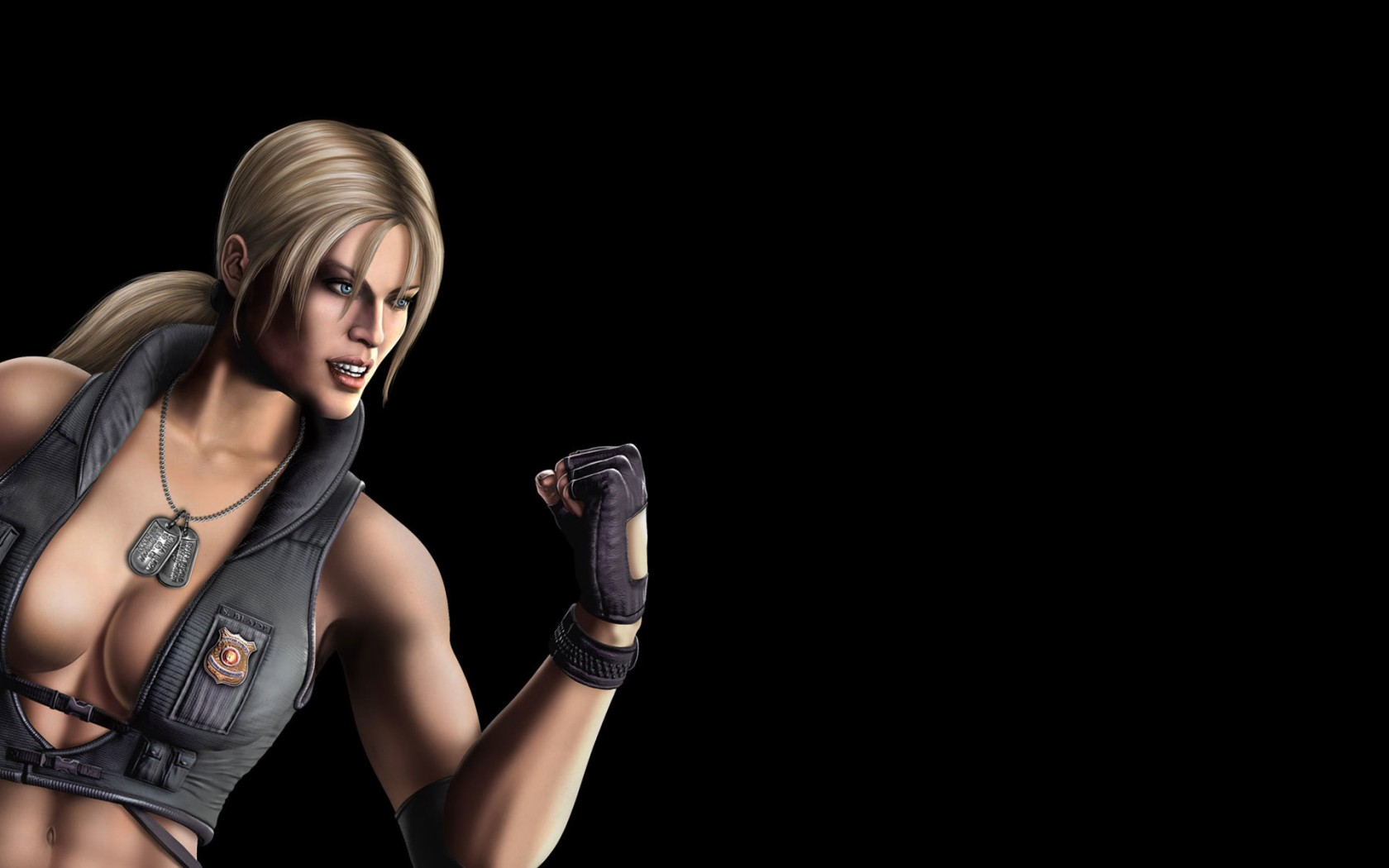 Mortal Kombat wallpaper Sonya Blade 2
