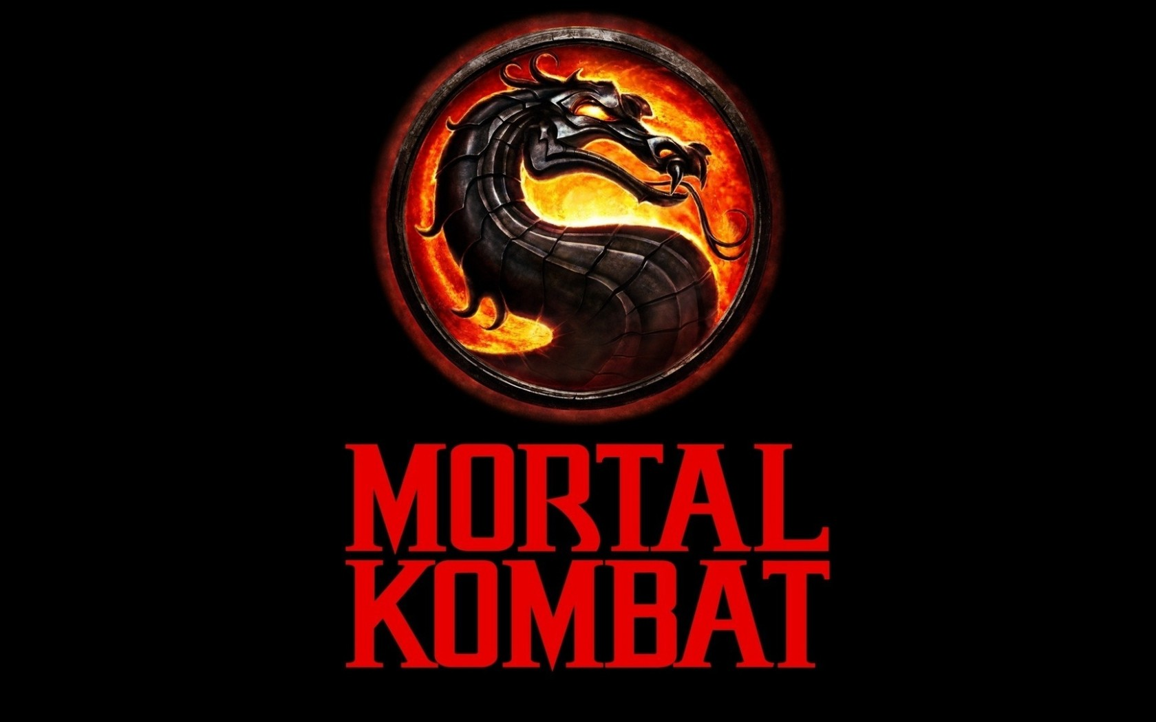 Mortal Kombat wallpaper Logo 9