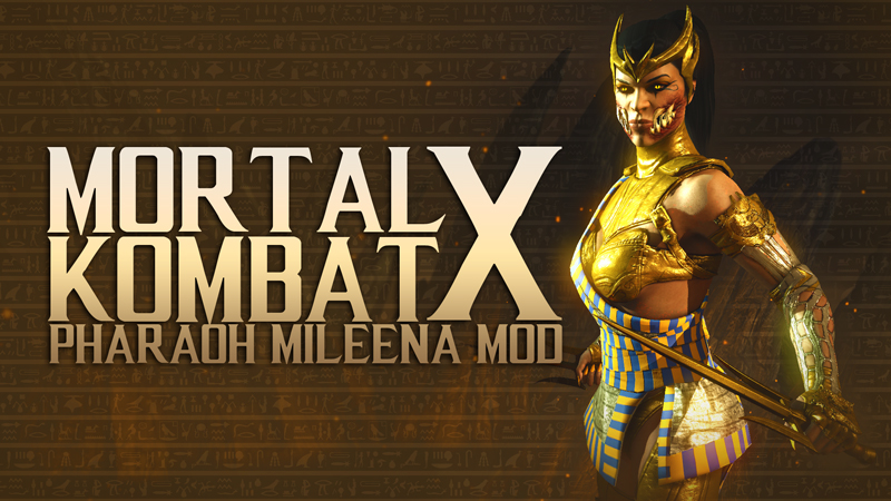 Download Mortal Kombat X Mod - Pharaoh Mileena Skin free