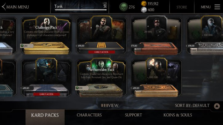 Undead Hunter Johnny Cage early access available - MKX Mobile