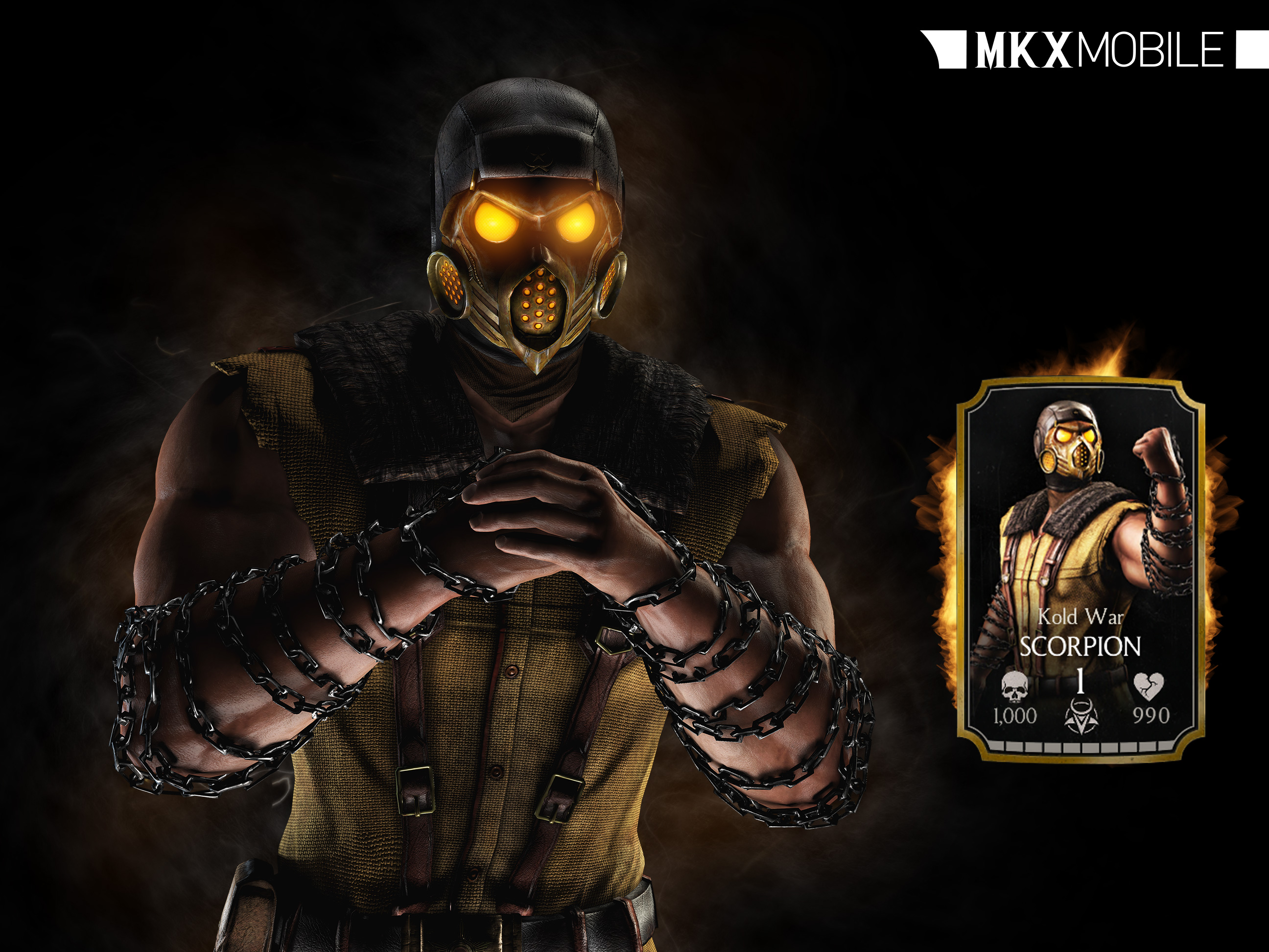 Kold War Scorpion Mortal Kombat X Mobile