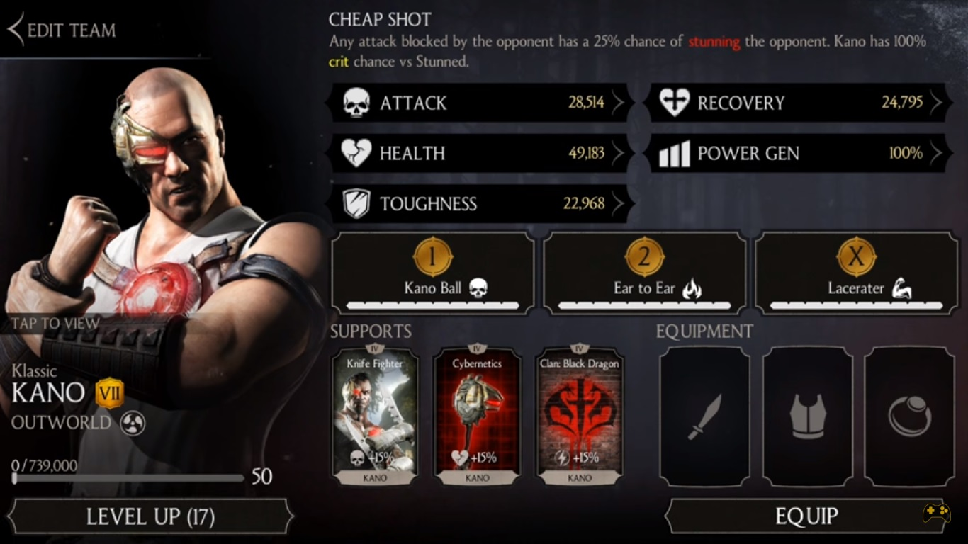 Mortal Kombat X Mobile 1 11 Update all 4 new characters