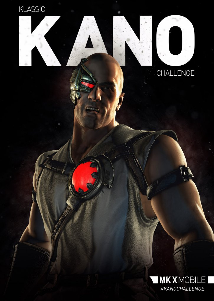 Klassic Kano Challenge Mortal Kombat X Mobile Mortal