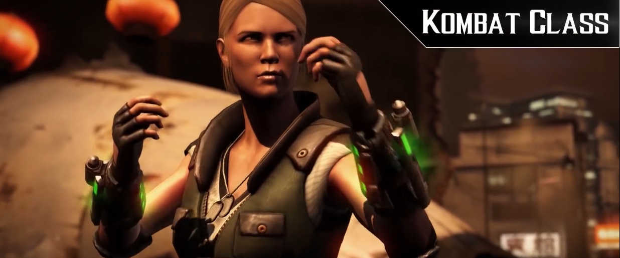 Mortal Kombat XL: Kombat Class - Sonya Blade video