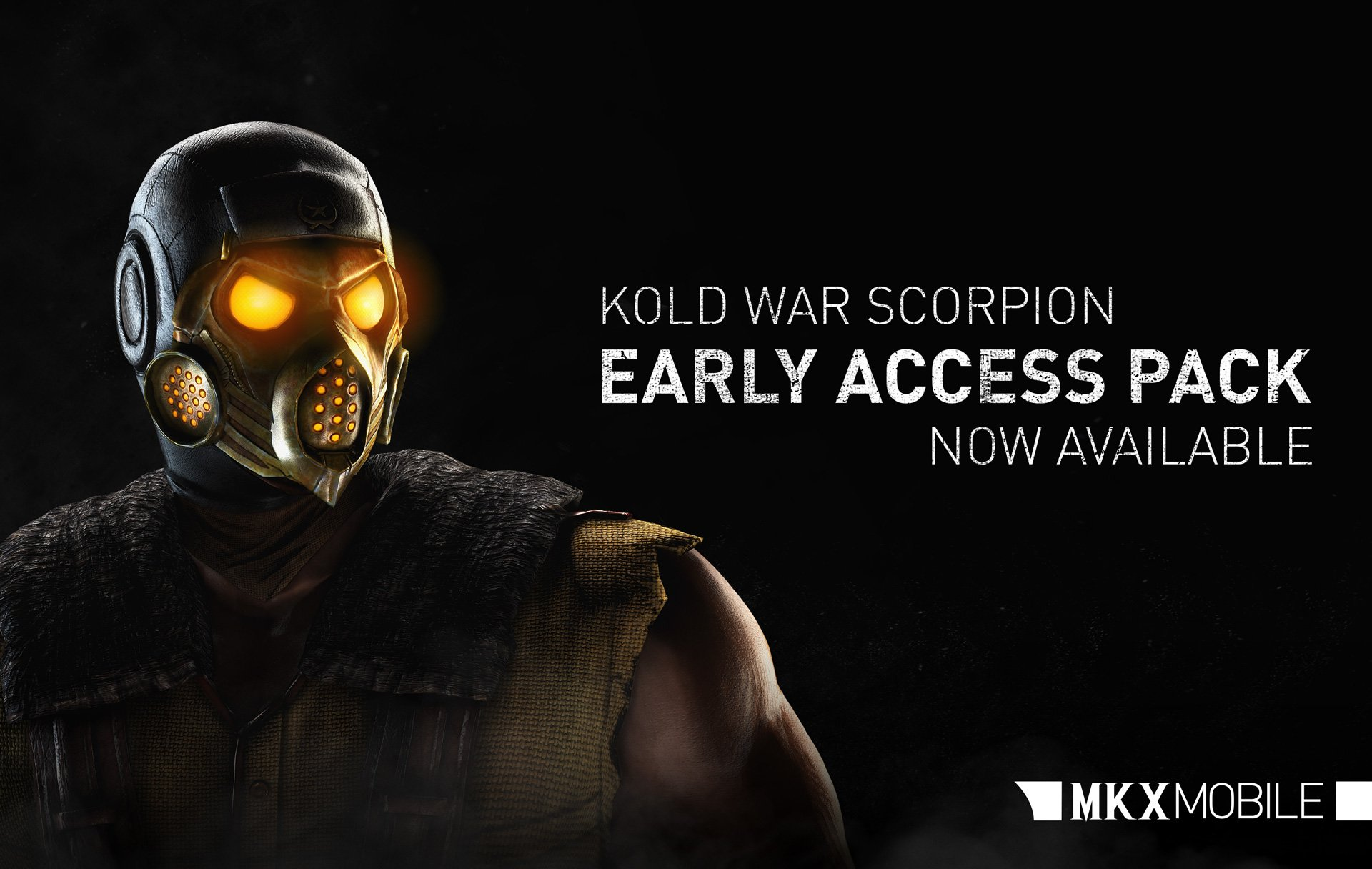 Kold War Scorpion early access Mortal Kombat X Mobile