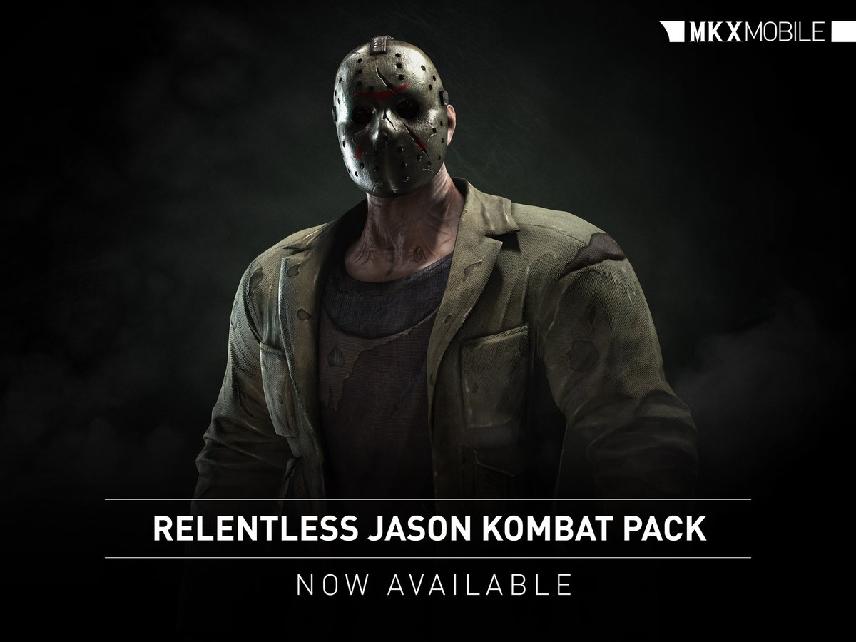 Relentless Jason Voorhees pack Mortal Kombat X Mobile