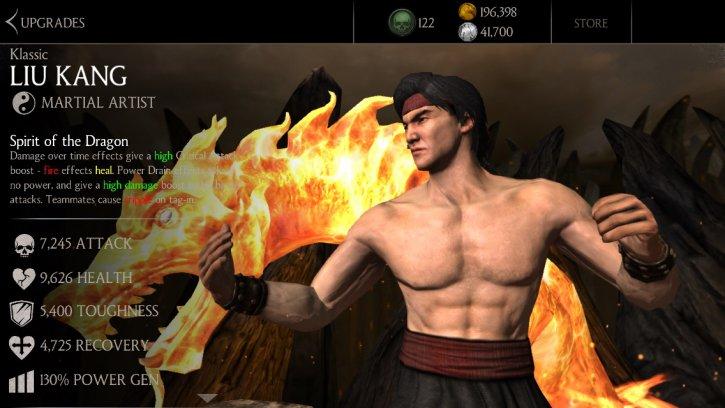 Klassic Liu Kang Mkx Mobile 187 Mortal Kombat Games Fan Site