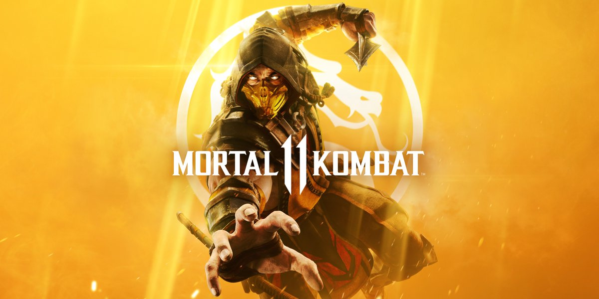 Official cover art for Mortal Kombat 11
