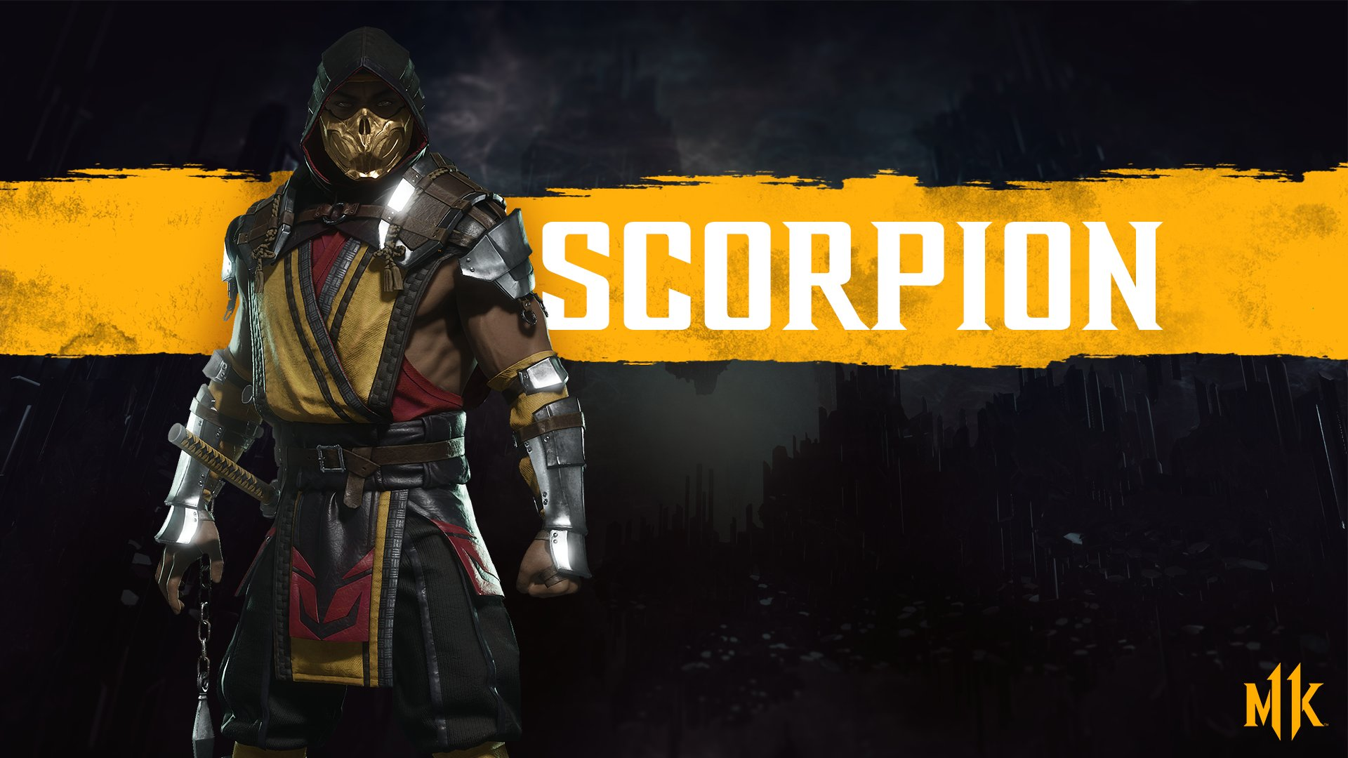Mortal Kombat 11 wallpaper - Scorpion