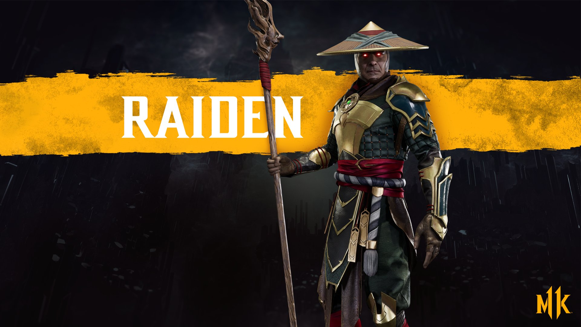 Mortal Kombat 11 wallpaper - Raiden