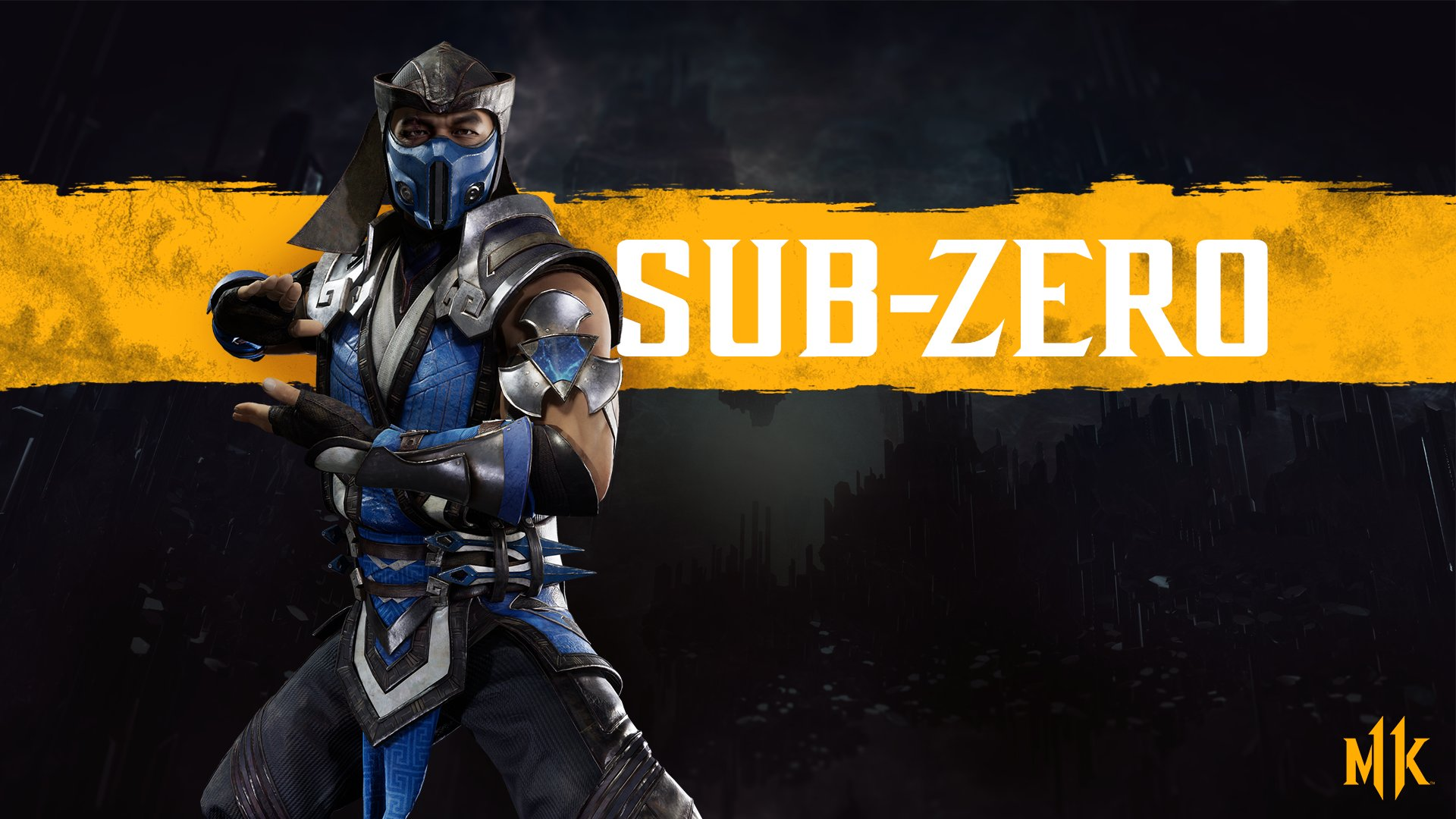Mortal Kombat 11 wallpaper - Sub-Zero