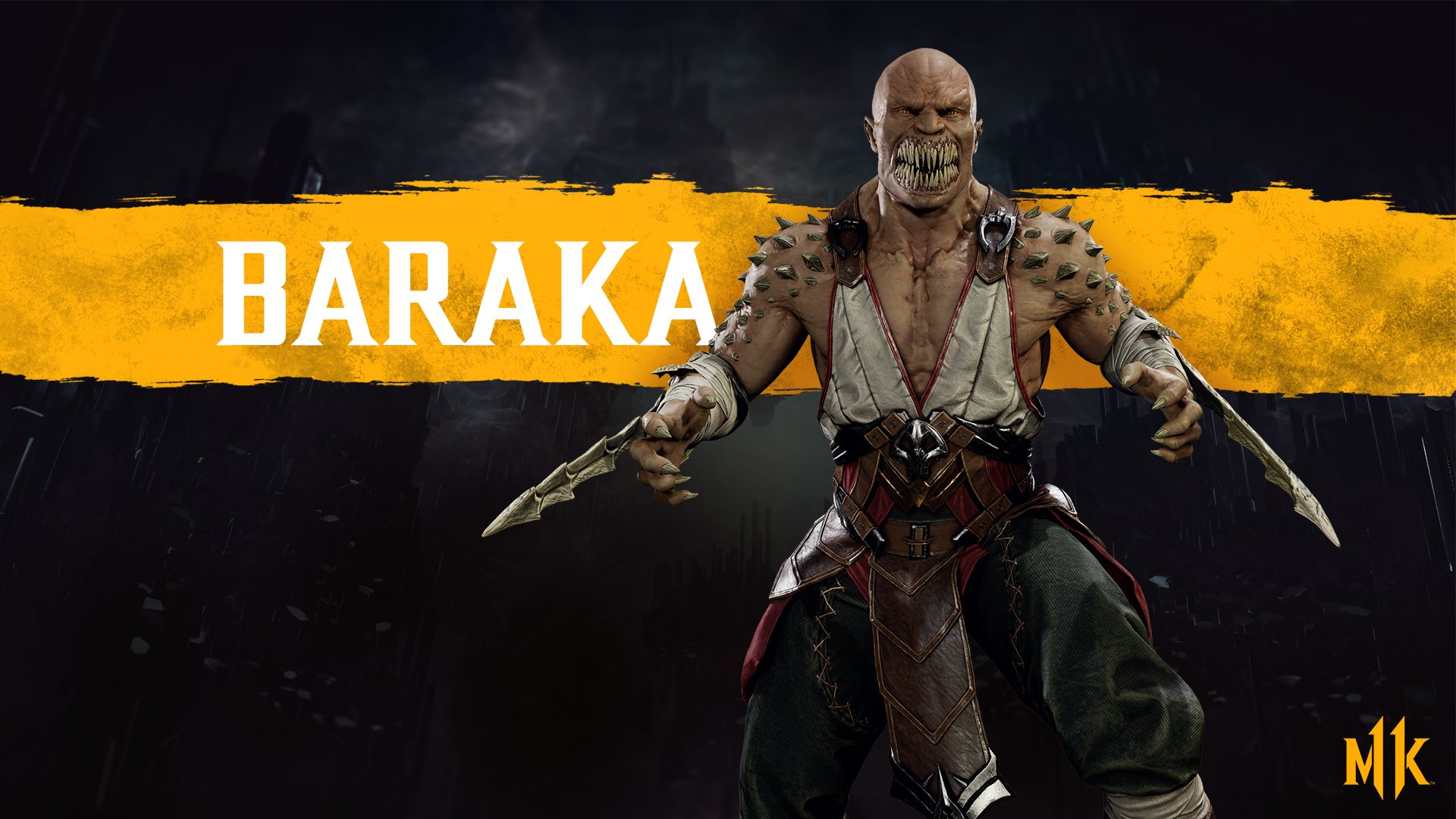 Mortal Kombat 11 wallpaper - Baraka
