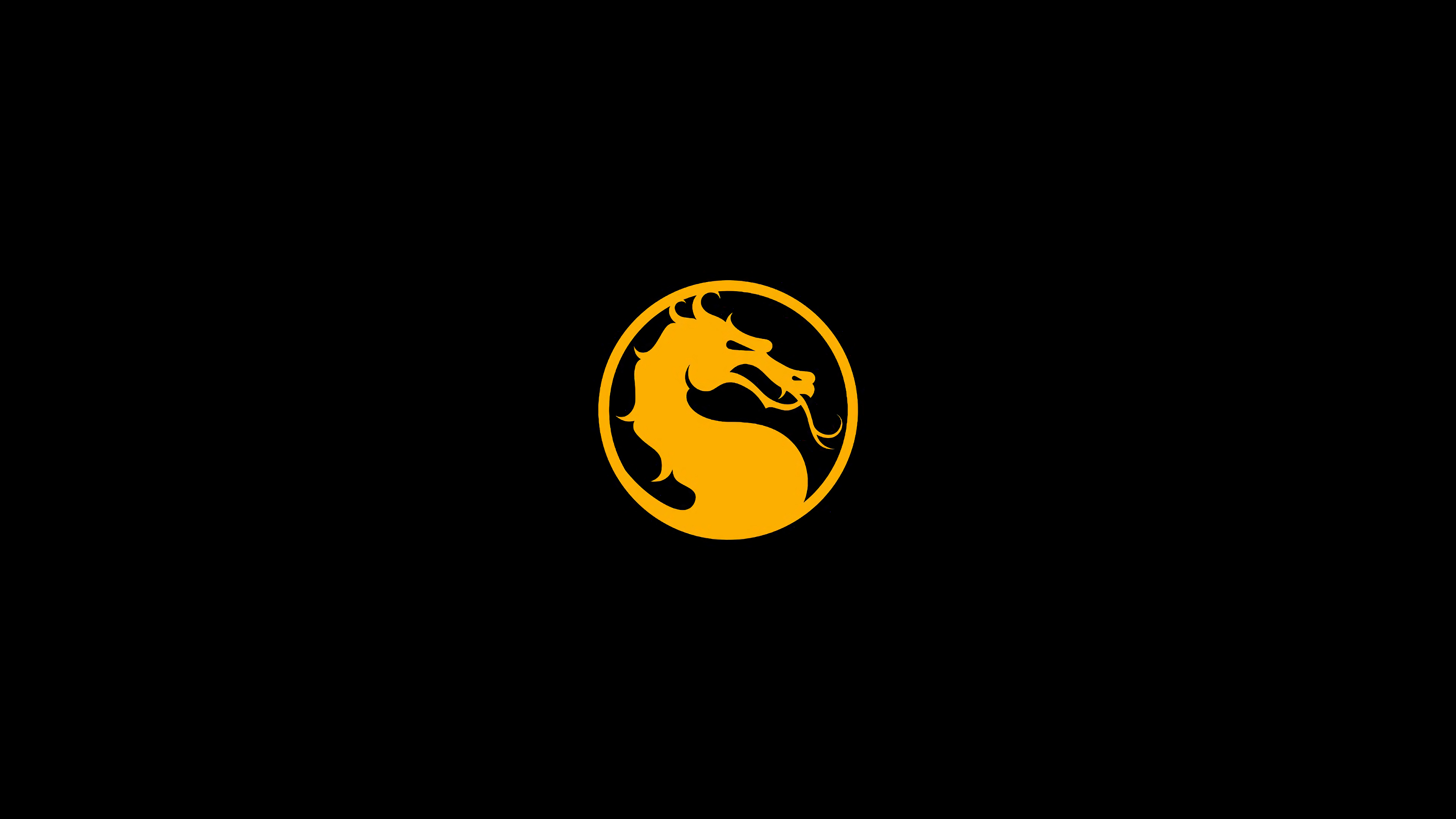 Mortal Kombat 11 wallpaper - Logo with the dragon