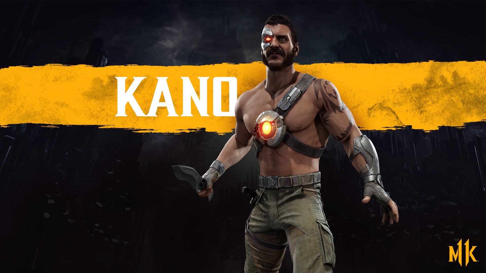 Mortal Kombat 11 wallpaper - Kano