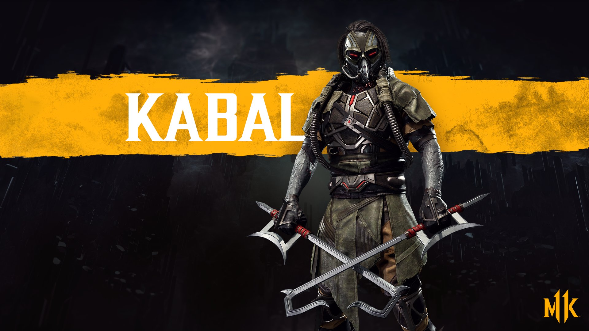 Mortal Kombat 11 wallpaper - Kabal