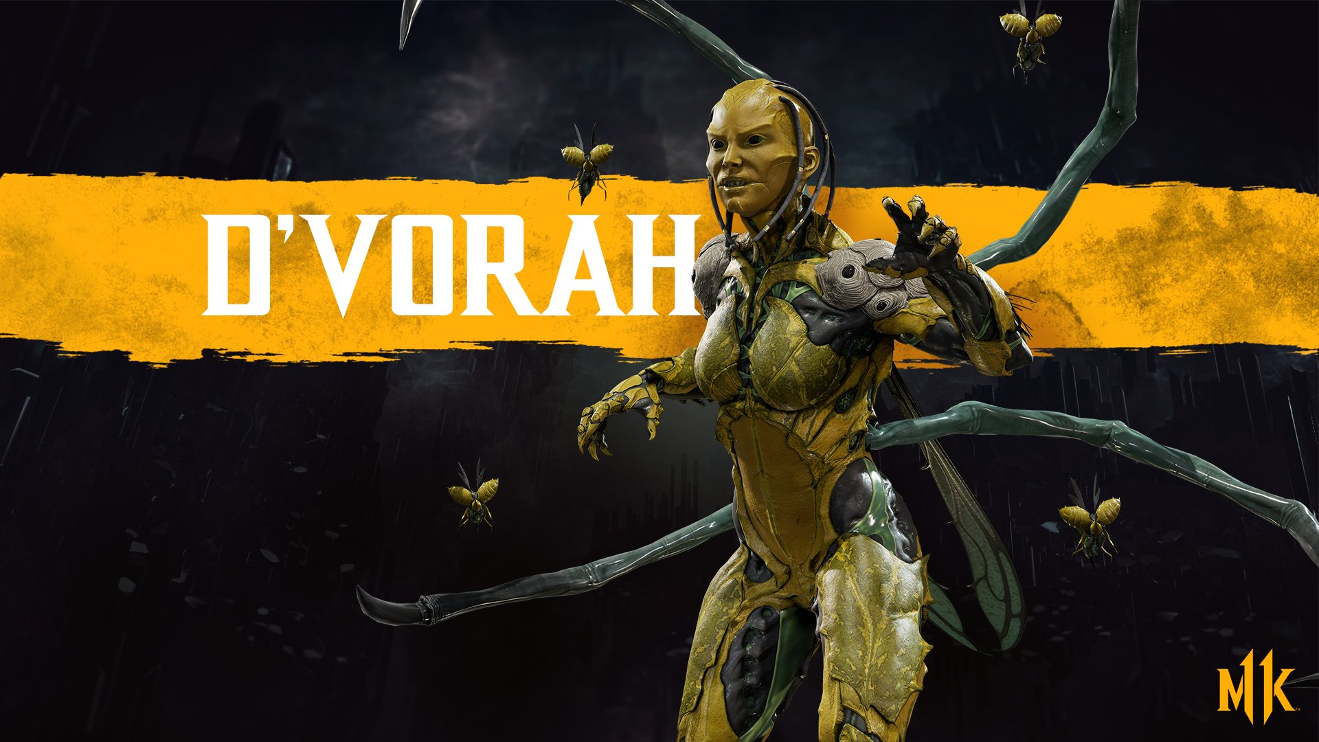 Mortal Kombat 11 wallpaper - D'Vorah