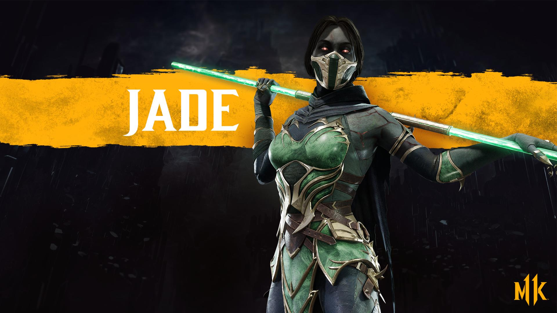 Mortal Kombat 11 wallpaper - Jade