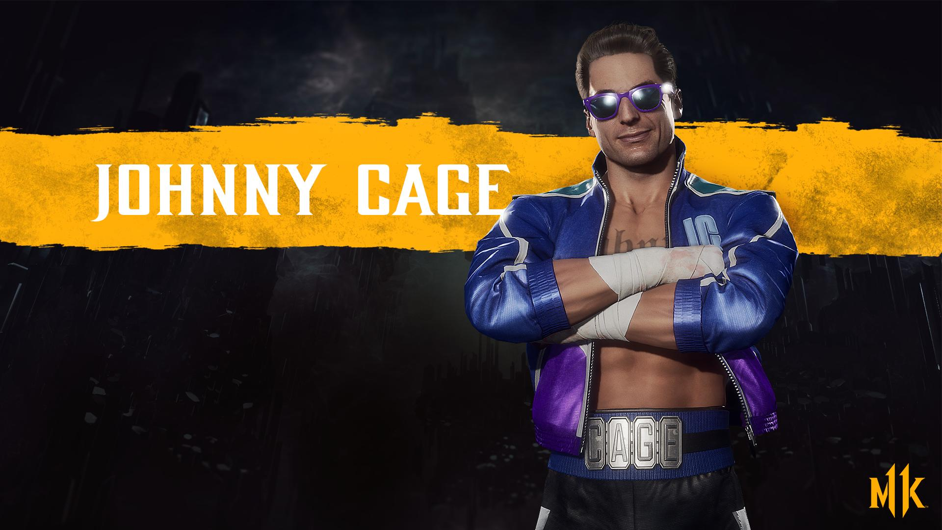 Mortal Kombat 11 background - Johnny Cage