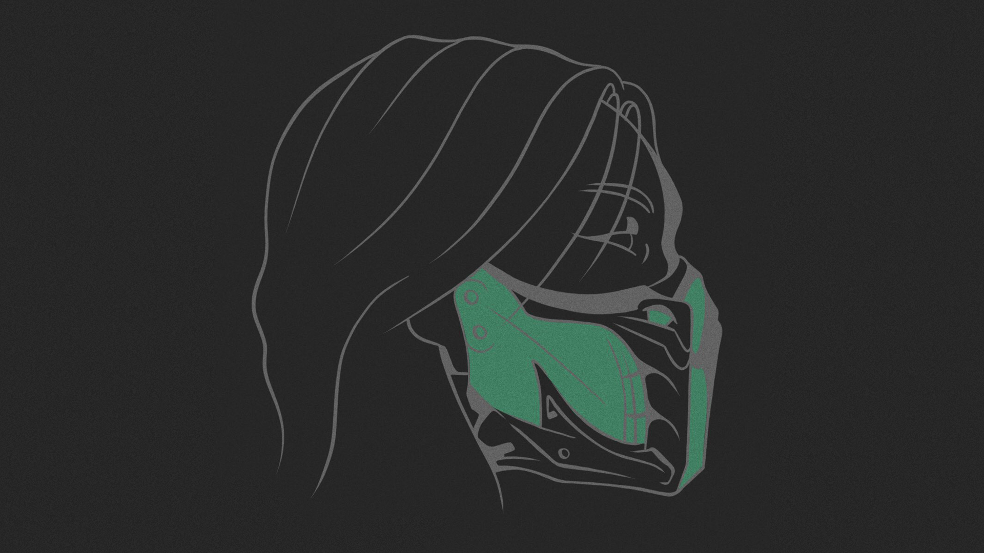 Mortal Kombat background - Jade's head