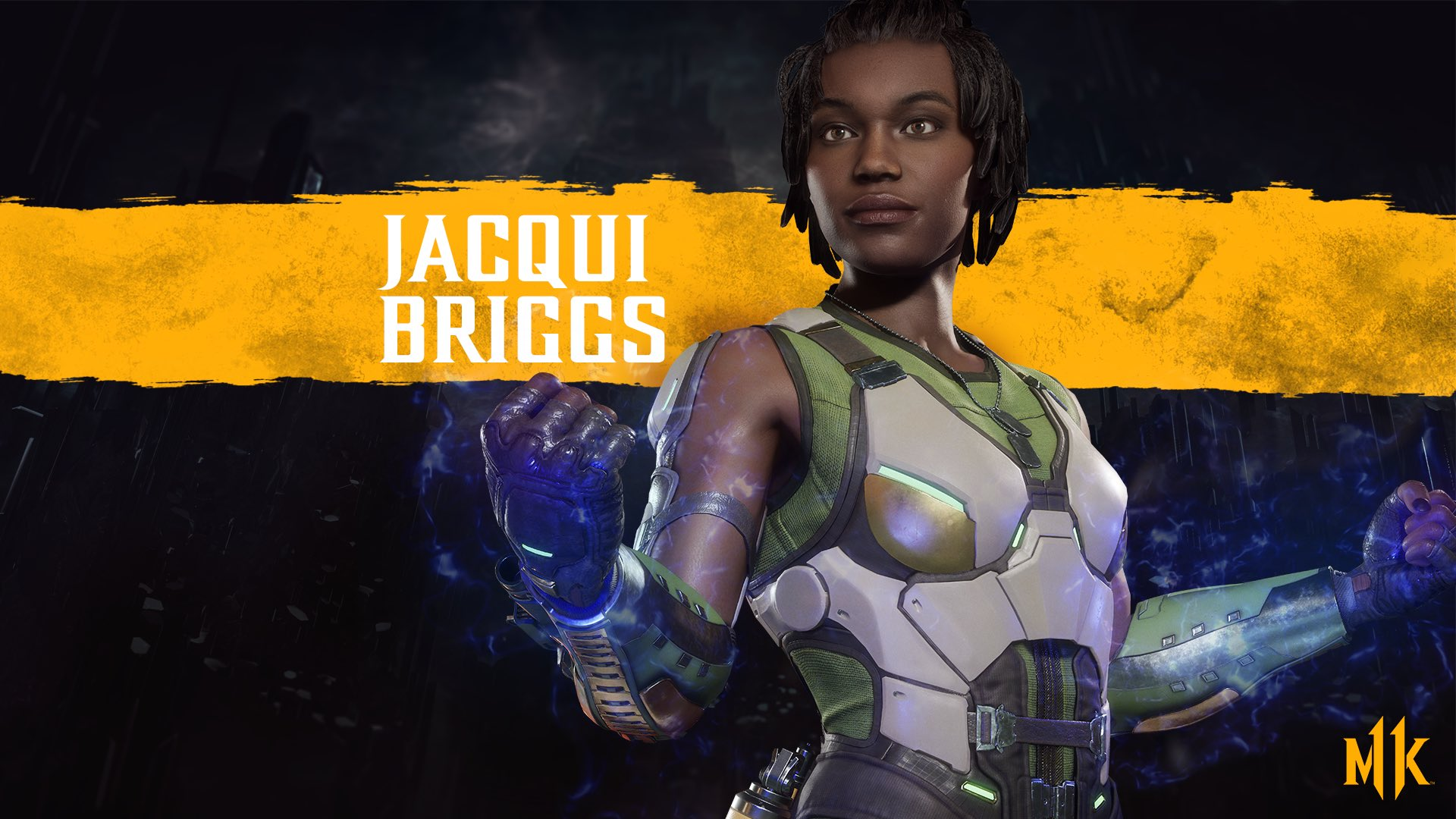 Mortal Kombat 11 background - Jacqui Briggs