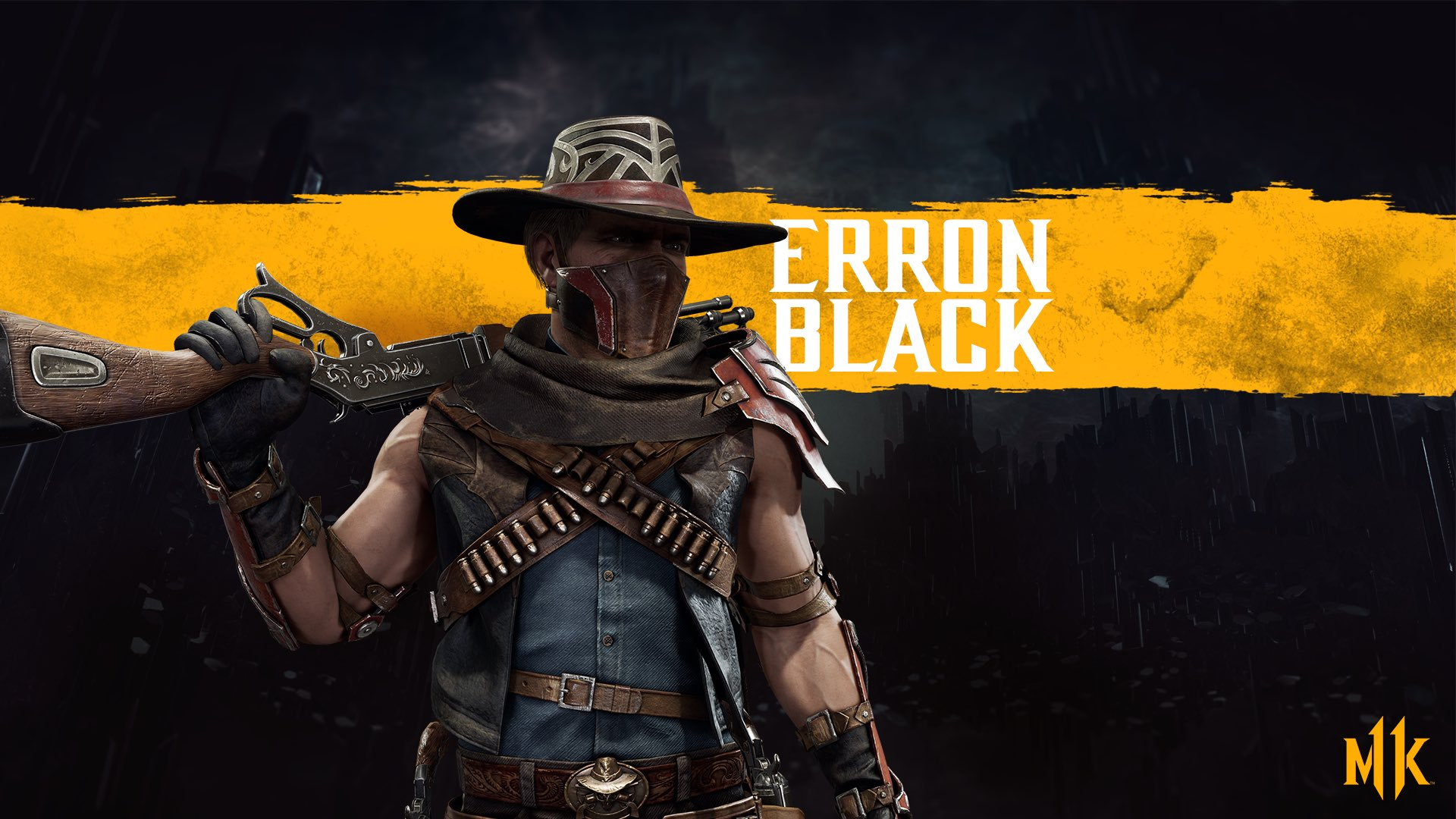 Mortal Kombat 11 background - Erron Black