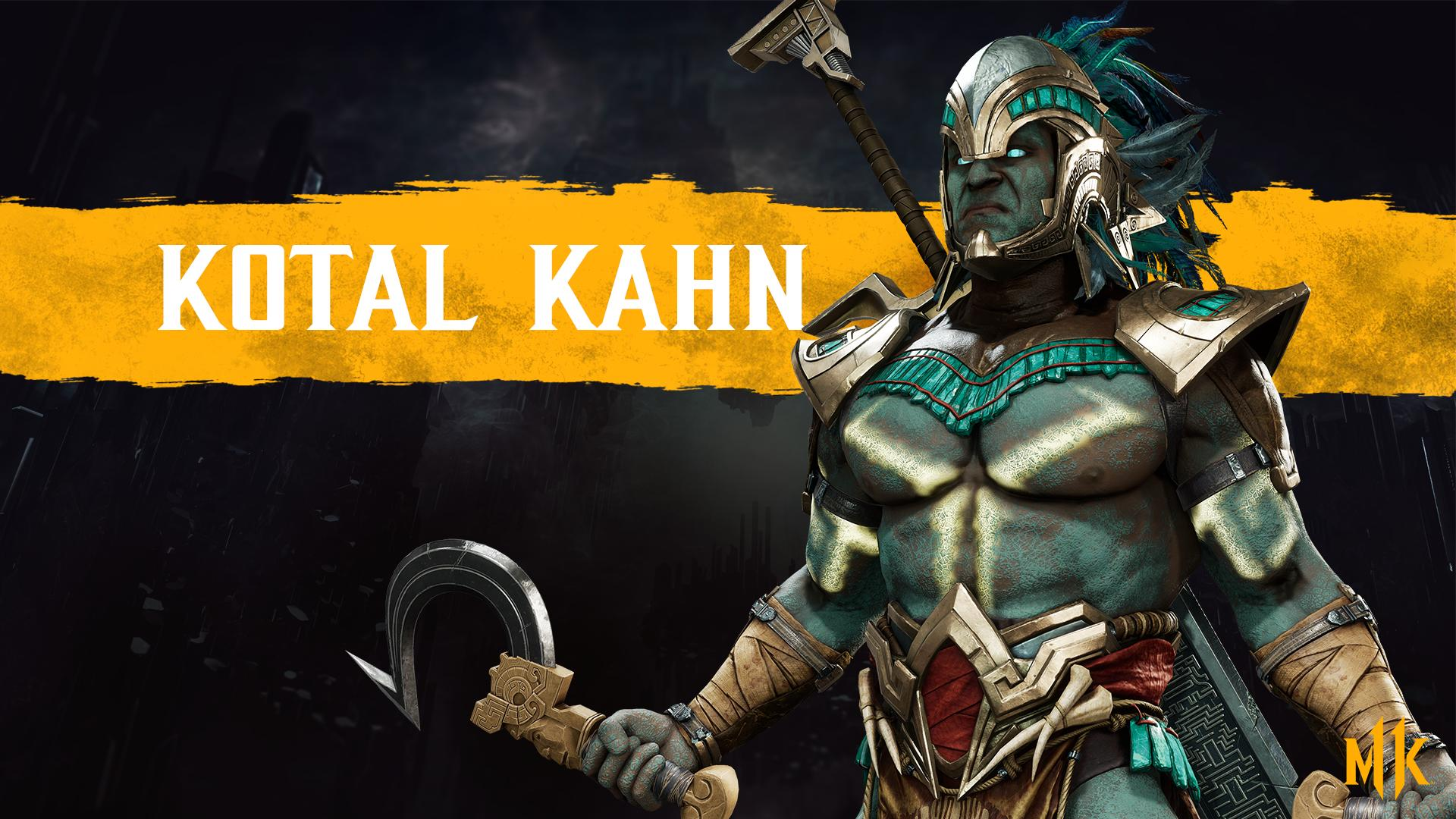Mortal Kombat 11 background - Kotal Kahn
