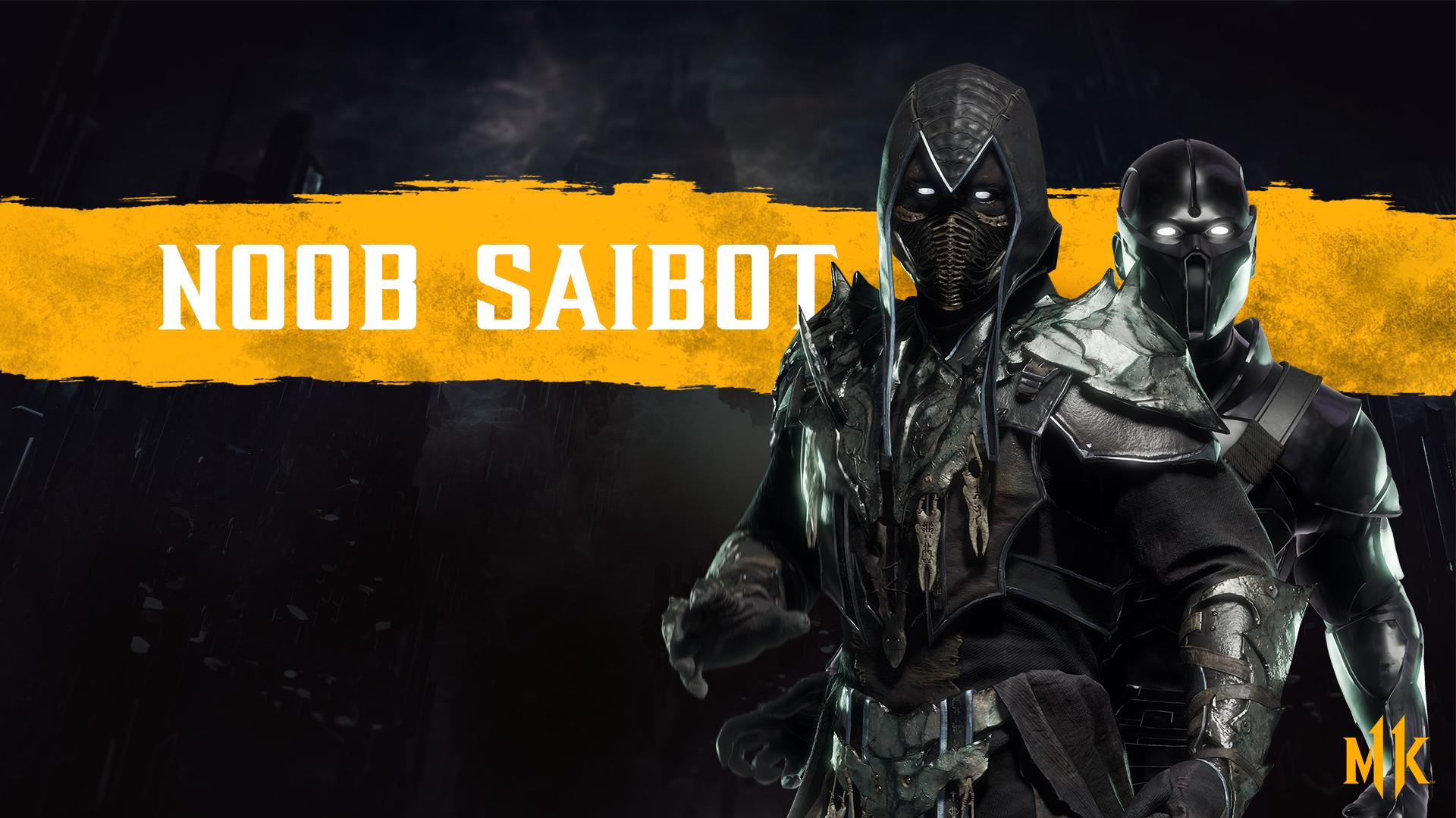 Mortal Kombat 11 background - Noob Saibot