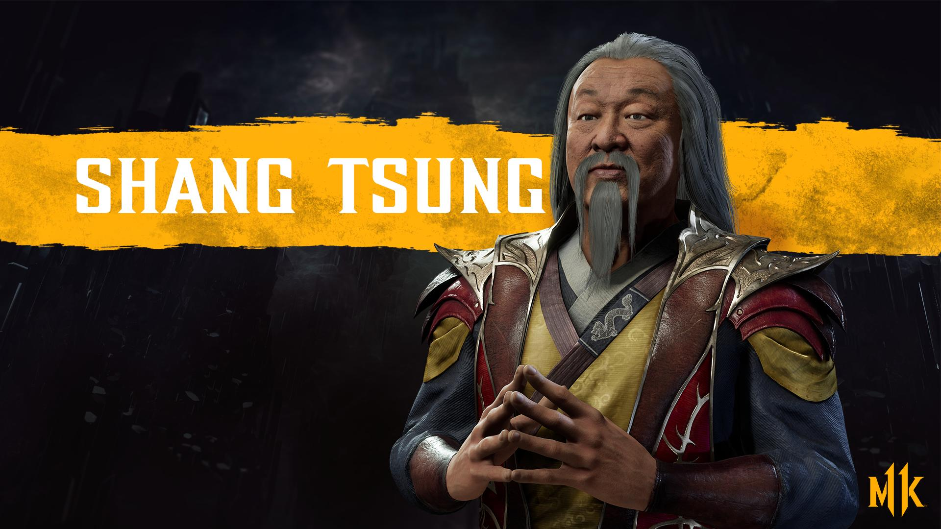 Mortal Kombat 11 background - Shang Tsung