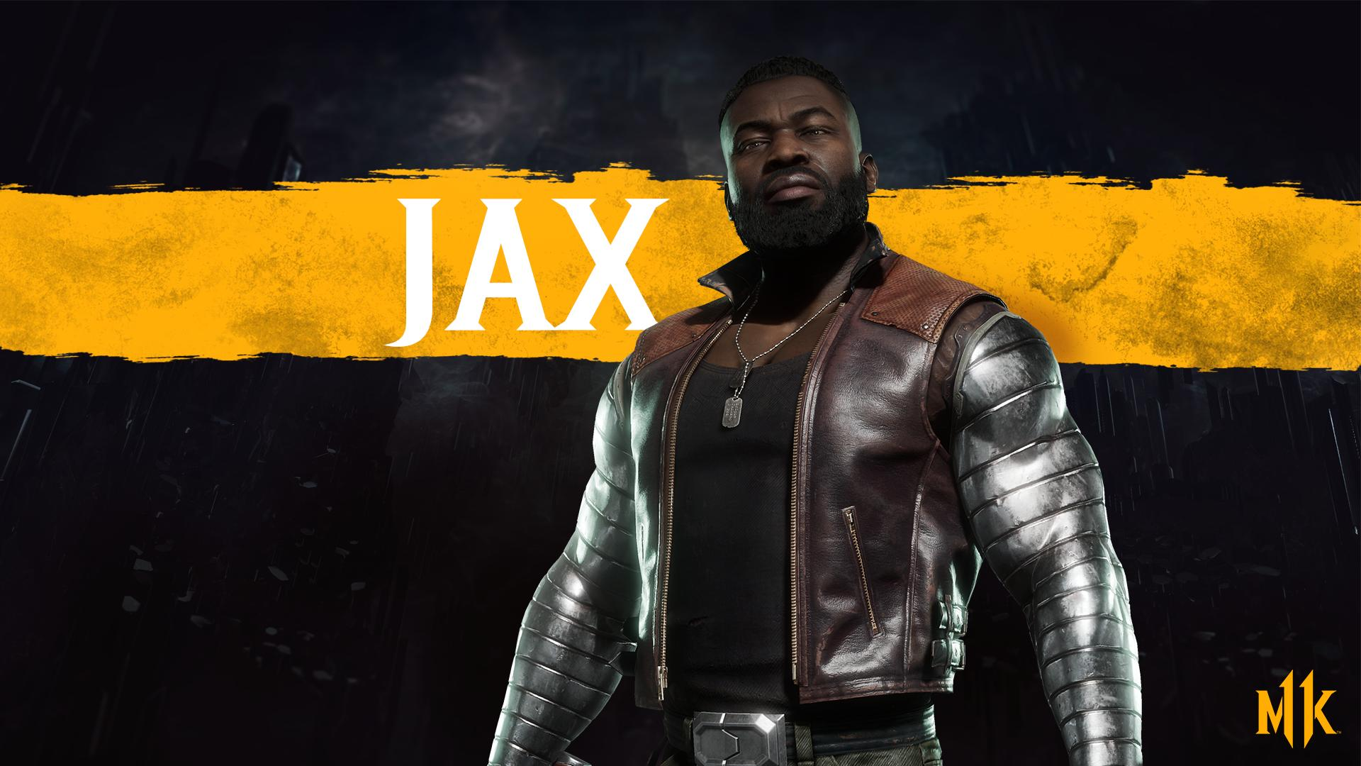 Mortal Kombat 11 background - Jax Briggs