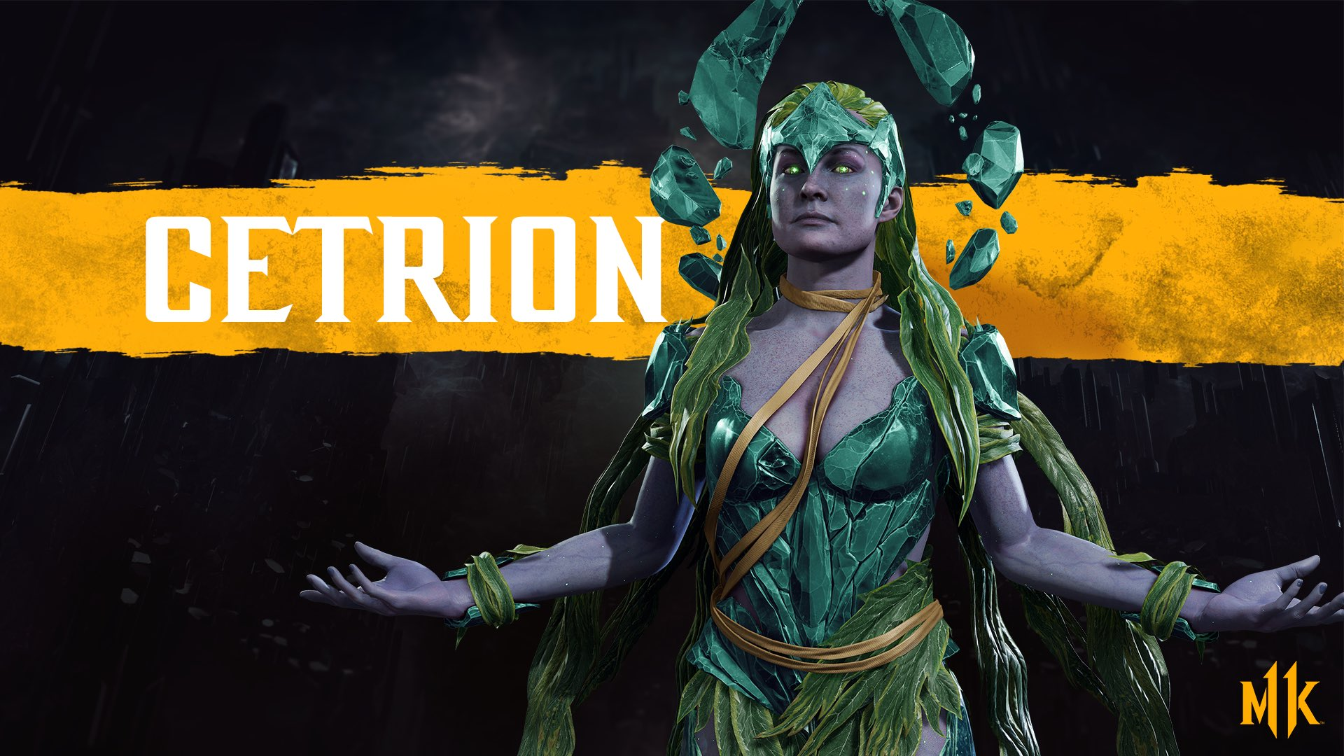 Mortal Kombat 11 background - Cetrion