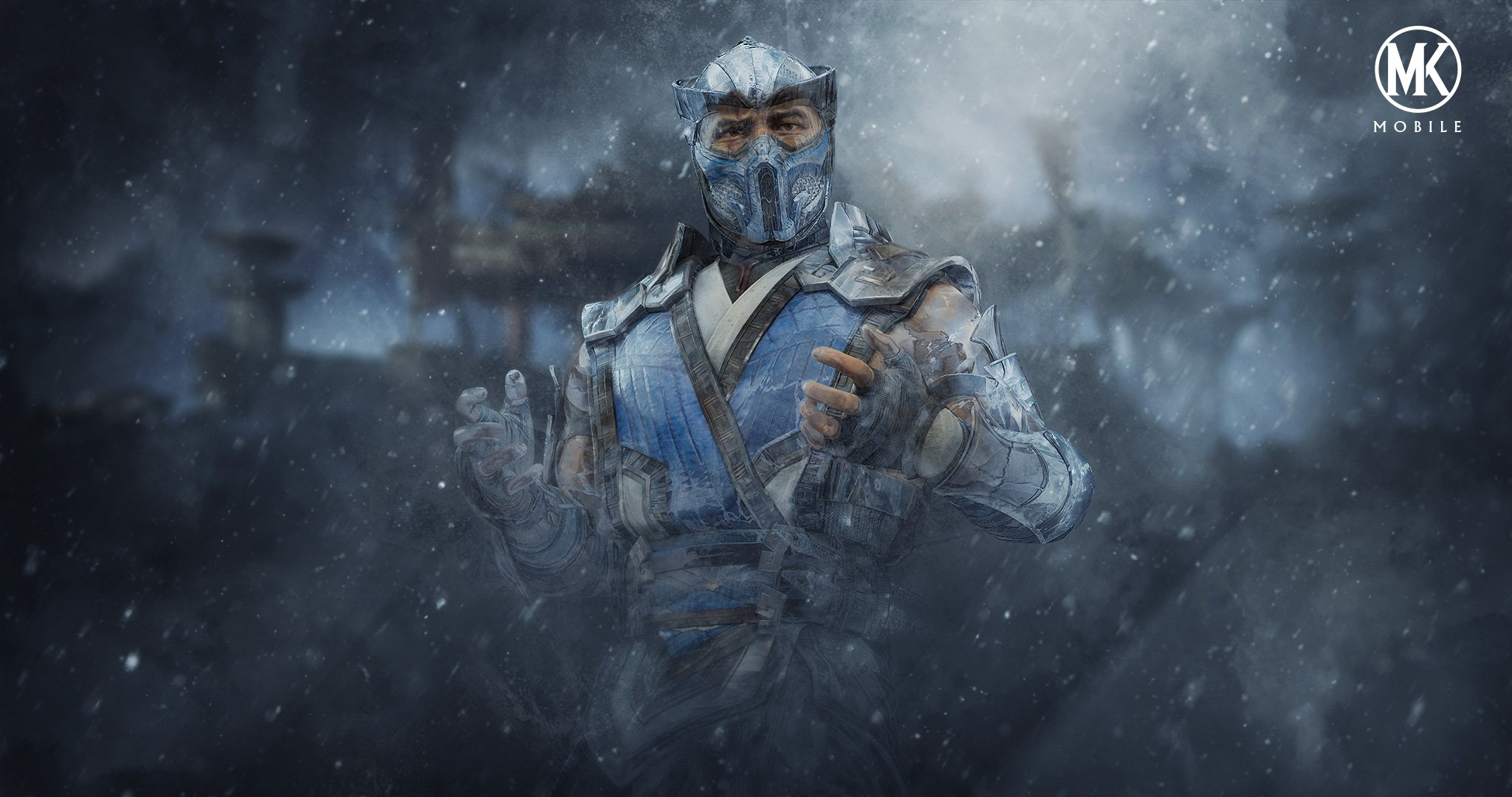 MK:Mobile background - Sub-Zero and Blizzard