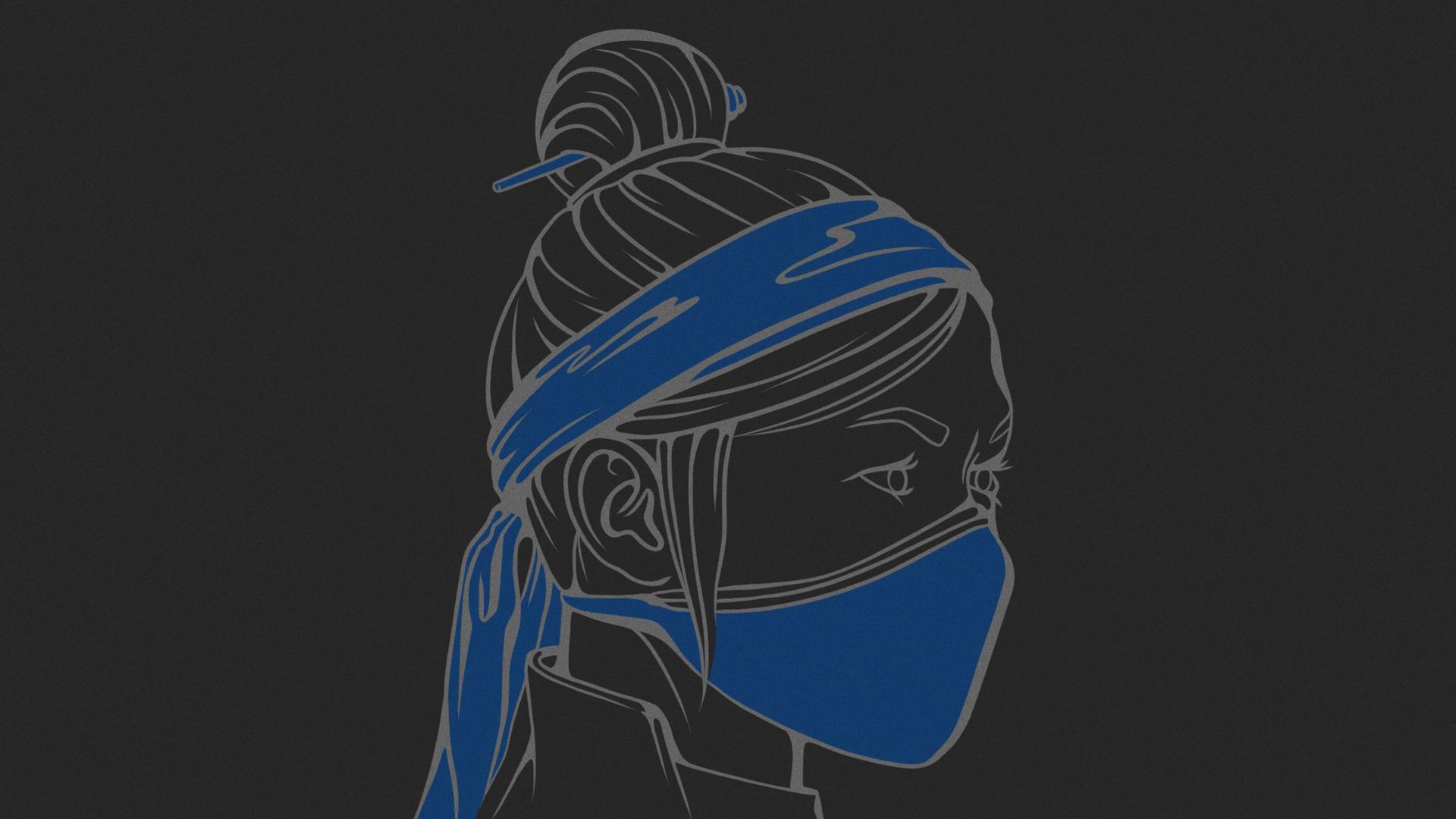 Mortal Kombat background - Kitana