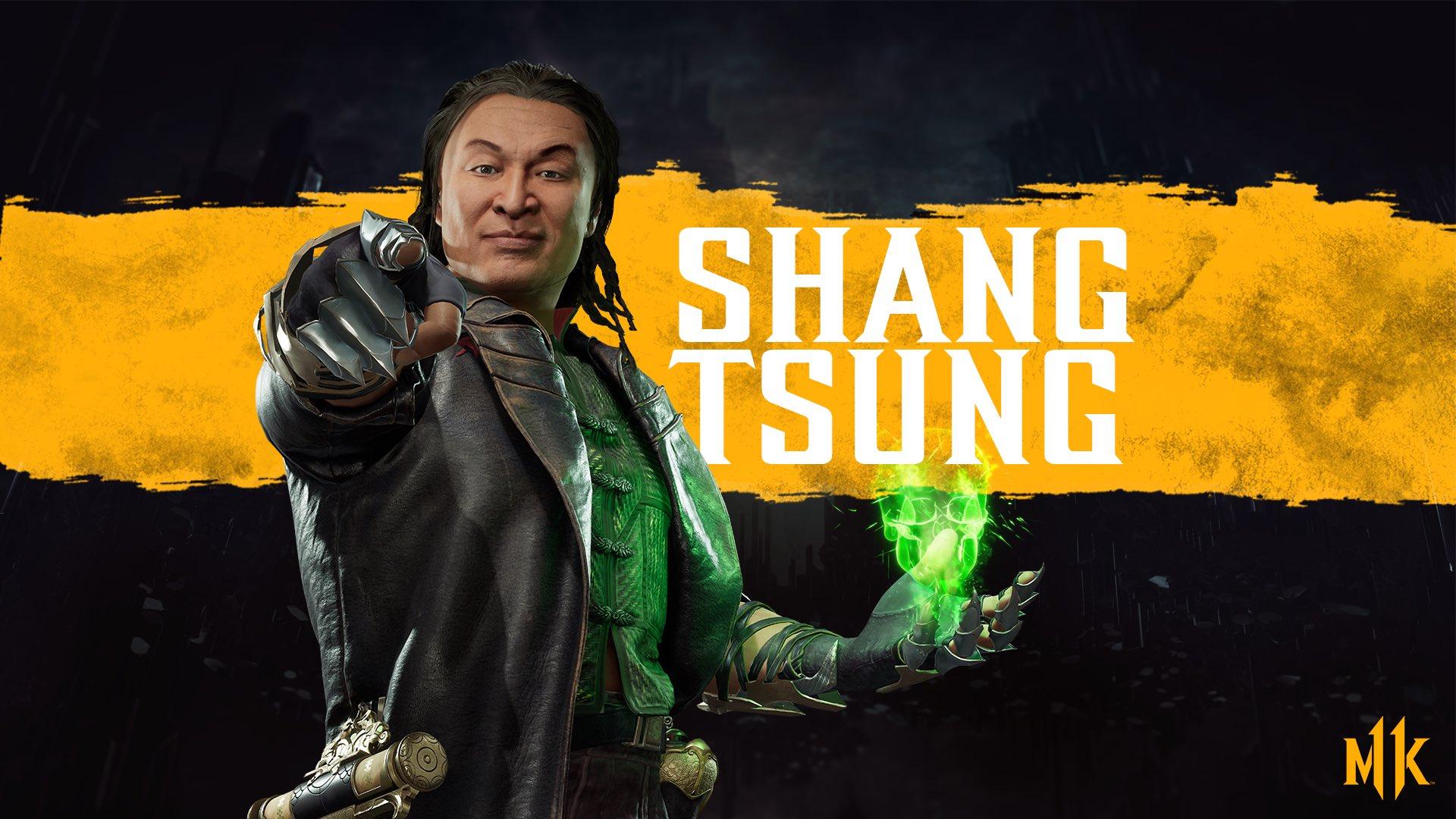 MK11 background - Shang Tsung