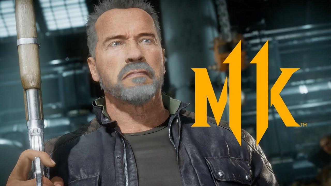 Mortal Kombat 11 – Terminator T-800 Gameplay Trailer