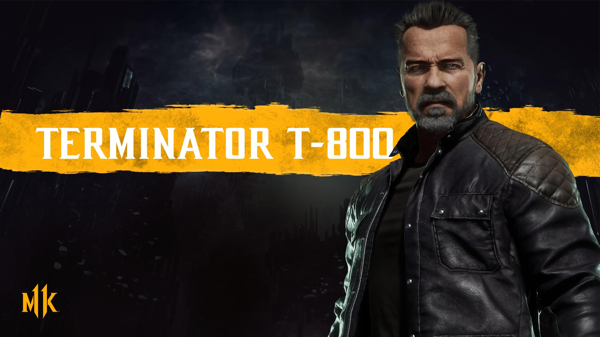 Mortal Kombat 11 background - Terminator T-800