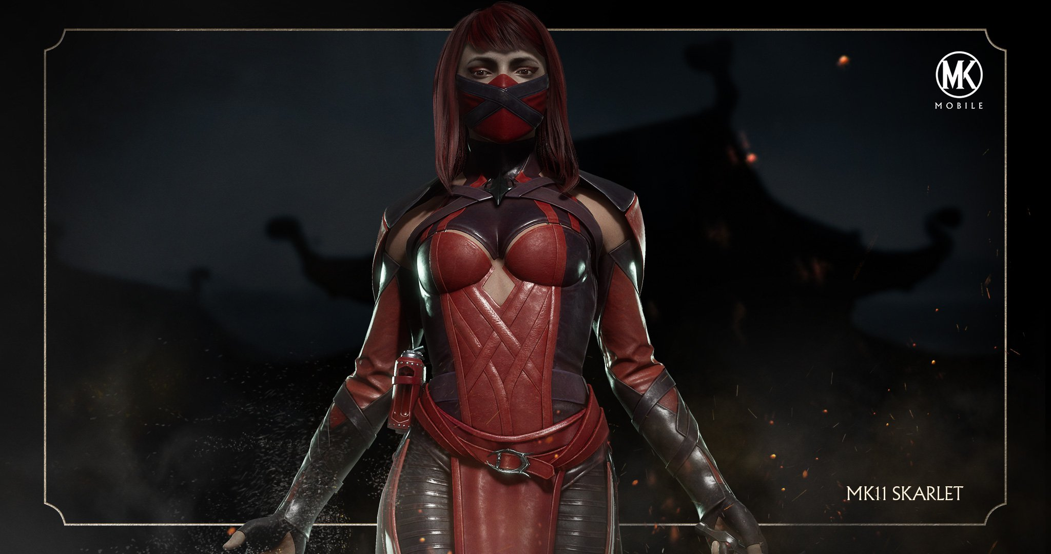 Mortal Kombat Mobile background - Skarlet