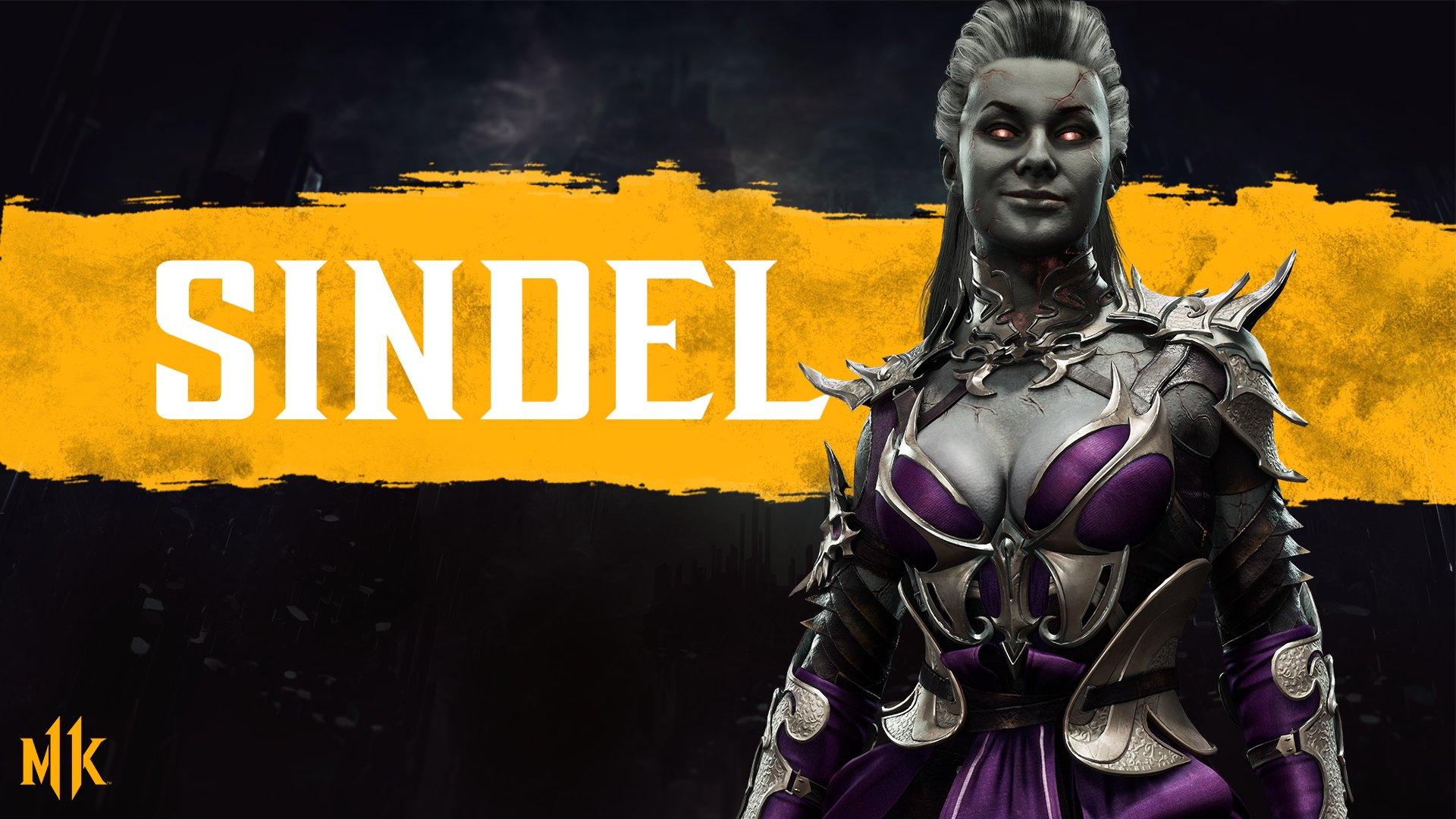 Mortal Kombat 11 background - Sindel