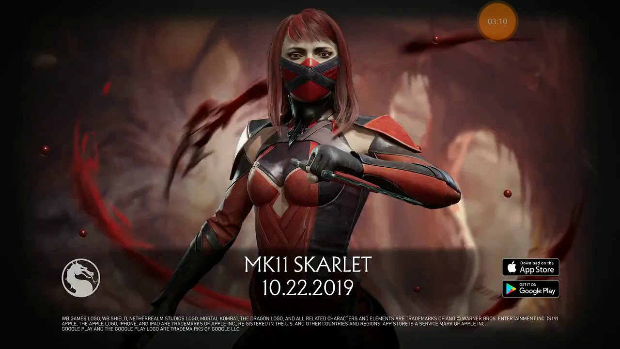 Mortal Kombat Mobile - MK11 Skarlet Gameplay