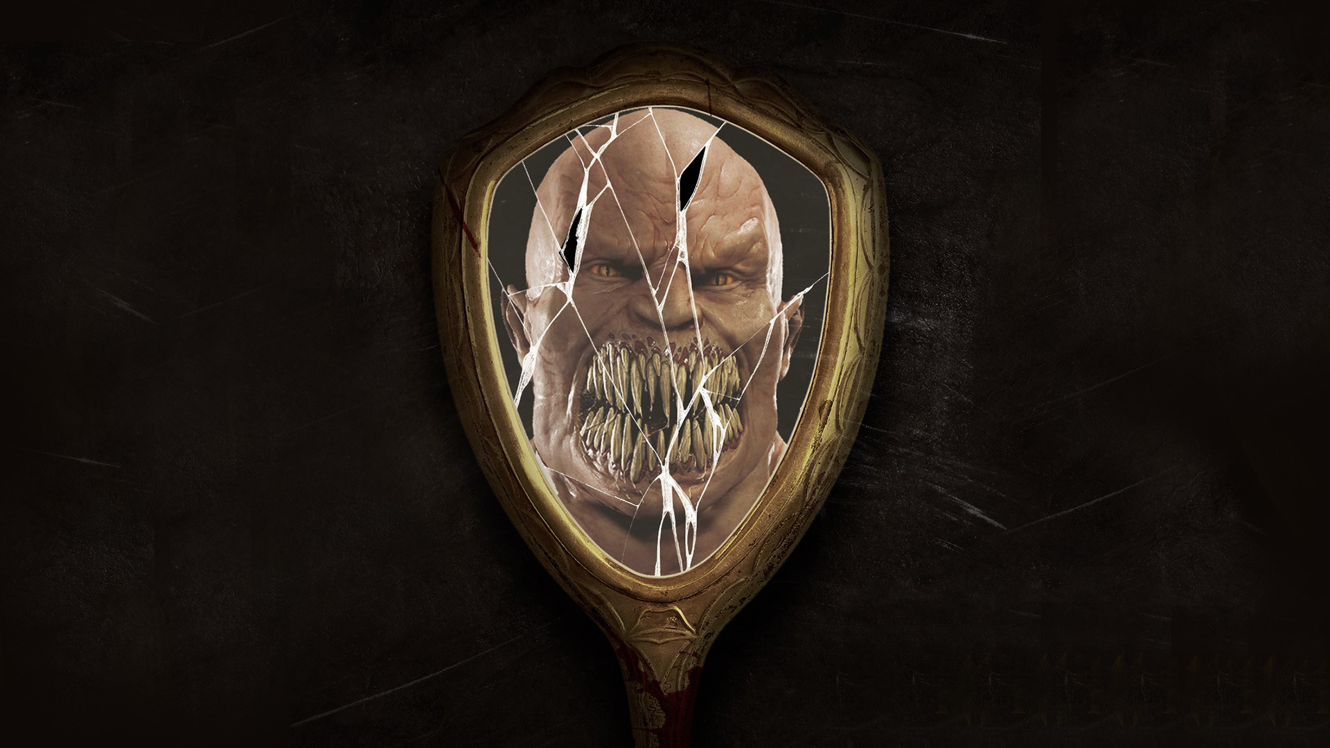 Baraka and the mirror background
