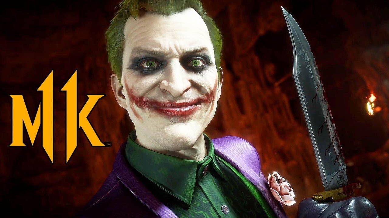 Mortal Kombat 11 - The Joker Gameplay Video